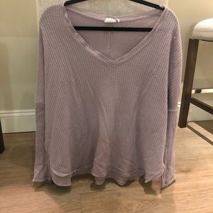 Lavender light-weight sweater from Urban Outfitter